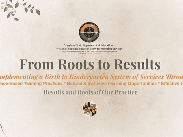 From Roots to Results cover page